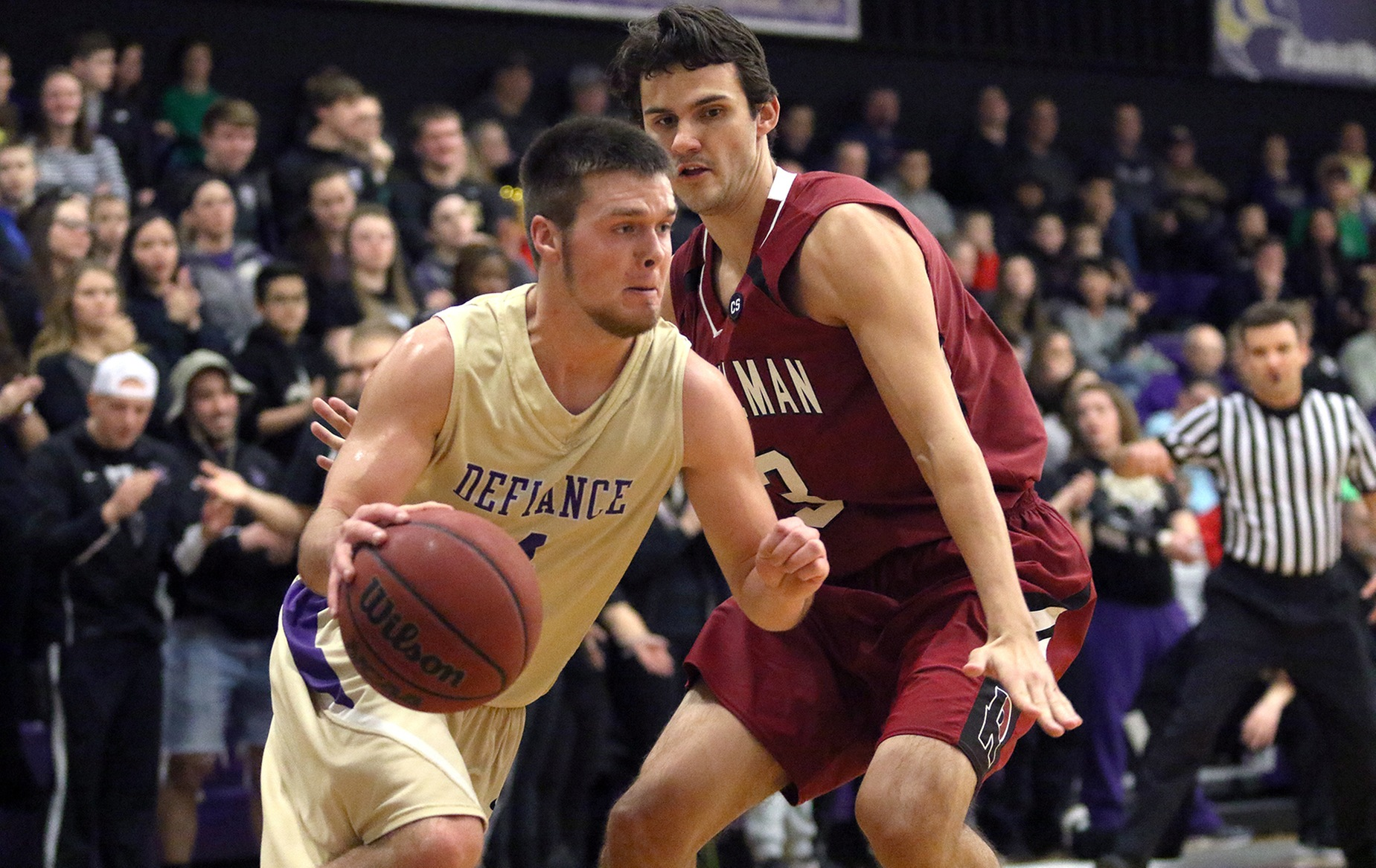 Men's Basketball Falls in HCAC Matchup Against MSJ