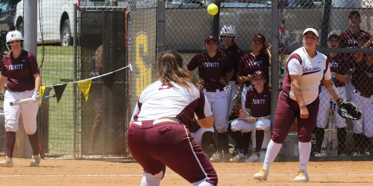 Schreiner Defeats Trinity to Survive and Advance in SCAC Softball Tourney