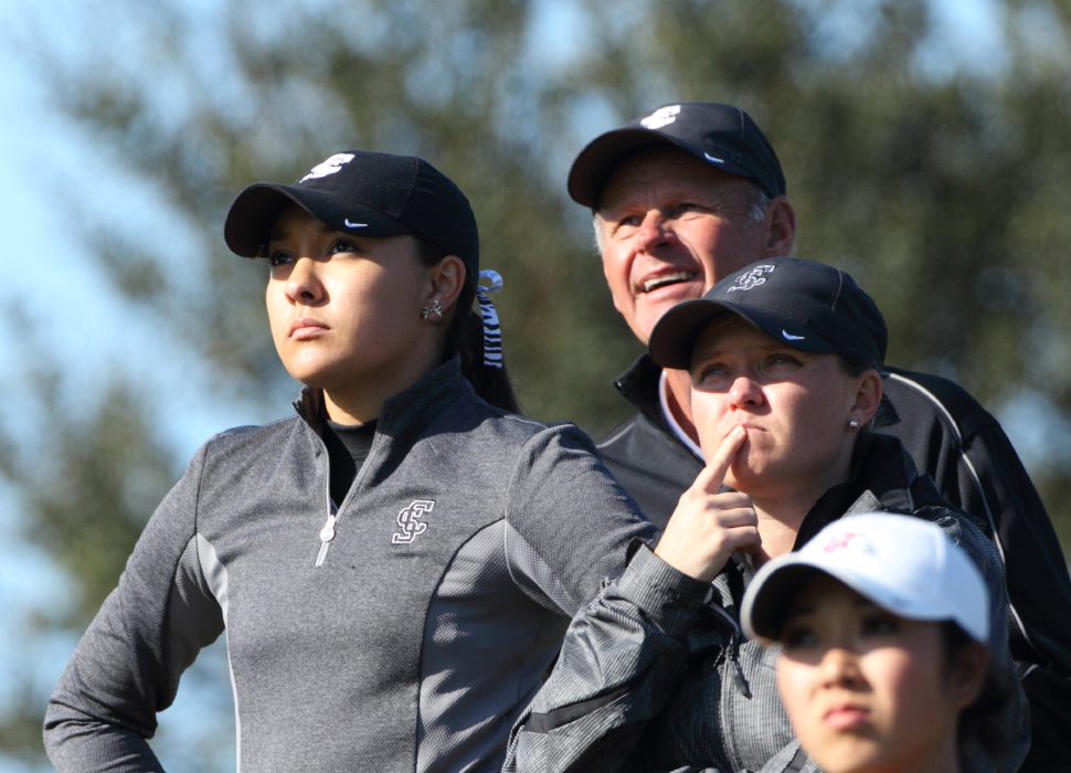SCU Women's Golf Playing Well at UCI Invitational; Second After Round One