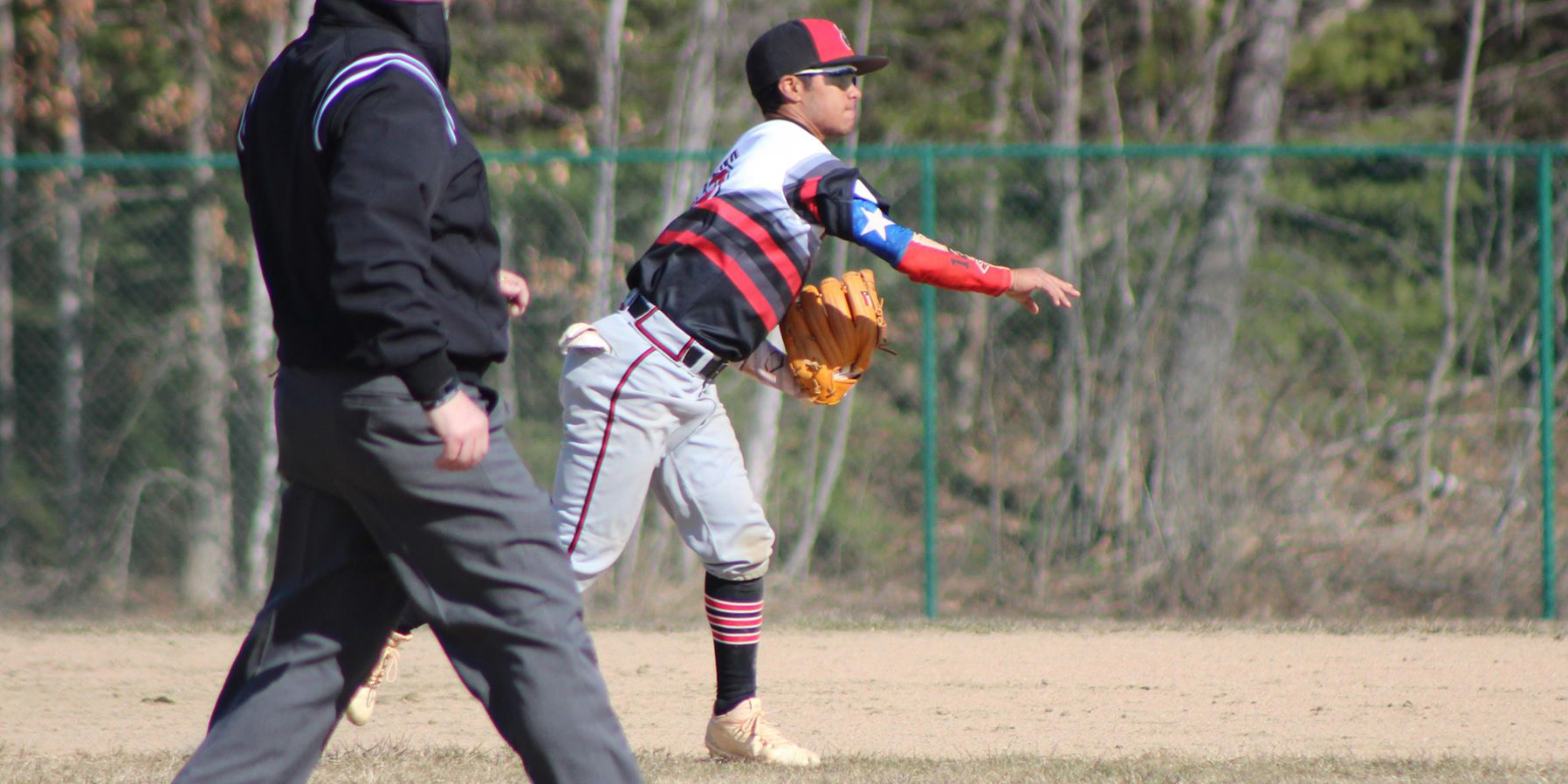 Baseball Falls to Castleton Twice in Twinbill
