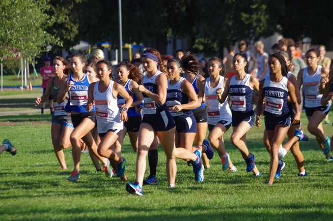 Cerritos comes in fifth place in first meet