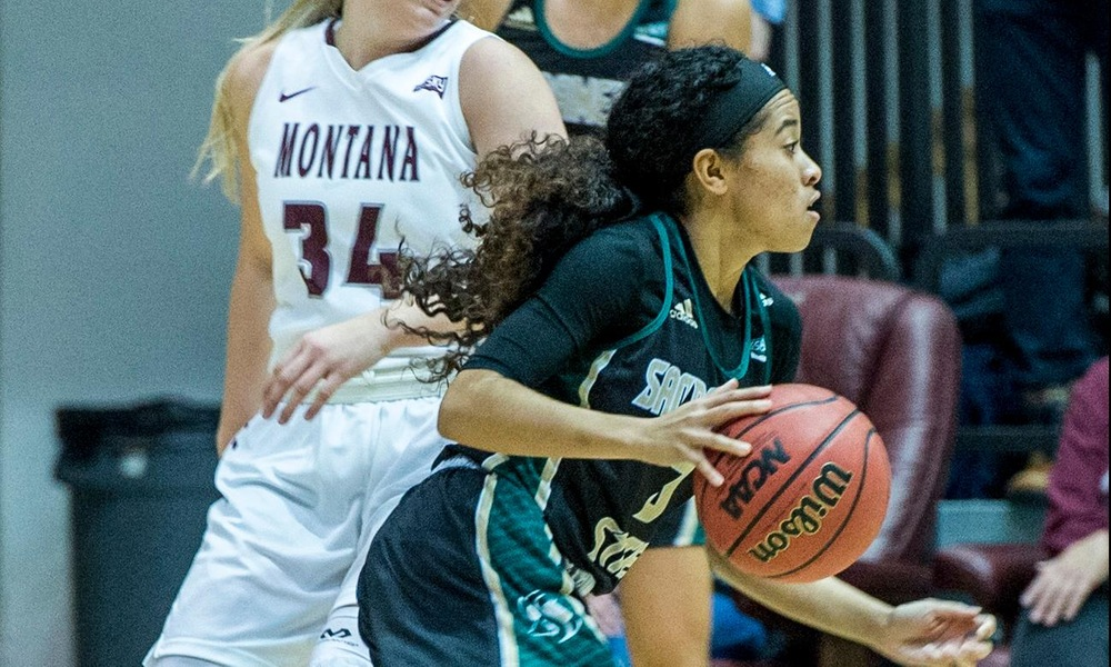 SECOND-HALF SURGE BY WOMEN'S HOOPS NOT ENOUGH TO OVERCOME MONTANA IN 68-59 LOSS