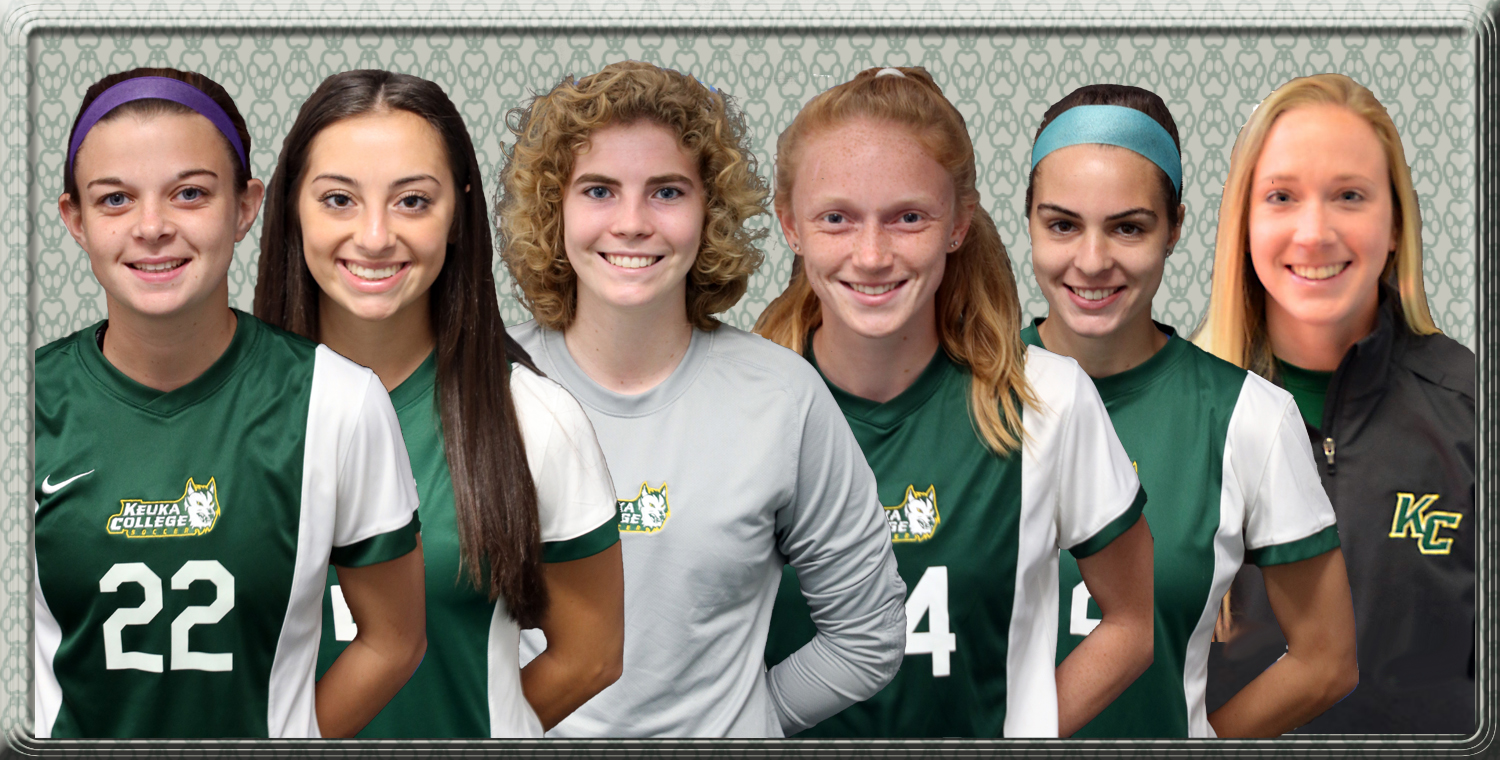 R to L: Emily McGuigan, Renee Vito, Jessica Pegg, Julia Oglesby, Abby Richards, Jessica Shufelt