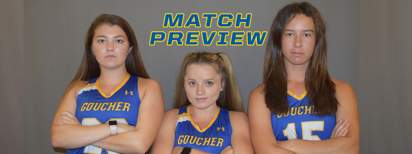 Goucher Field Hockey Takes To The Road For The Final Time At Elizabethtown On Saturday