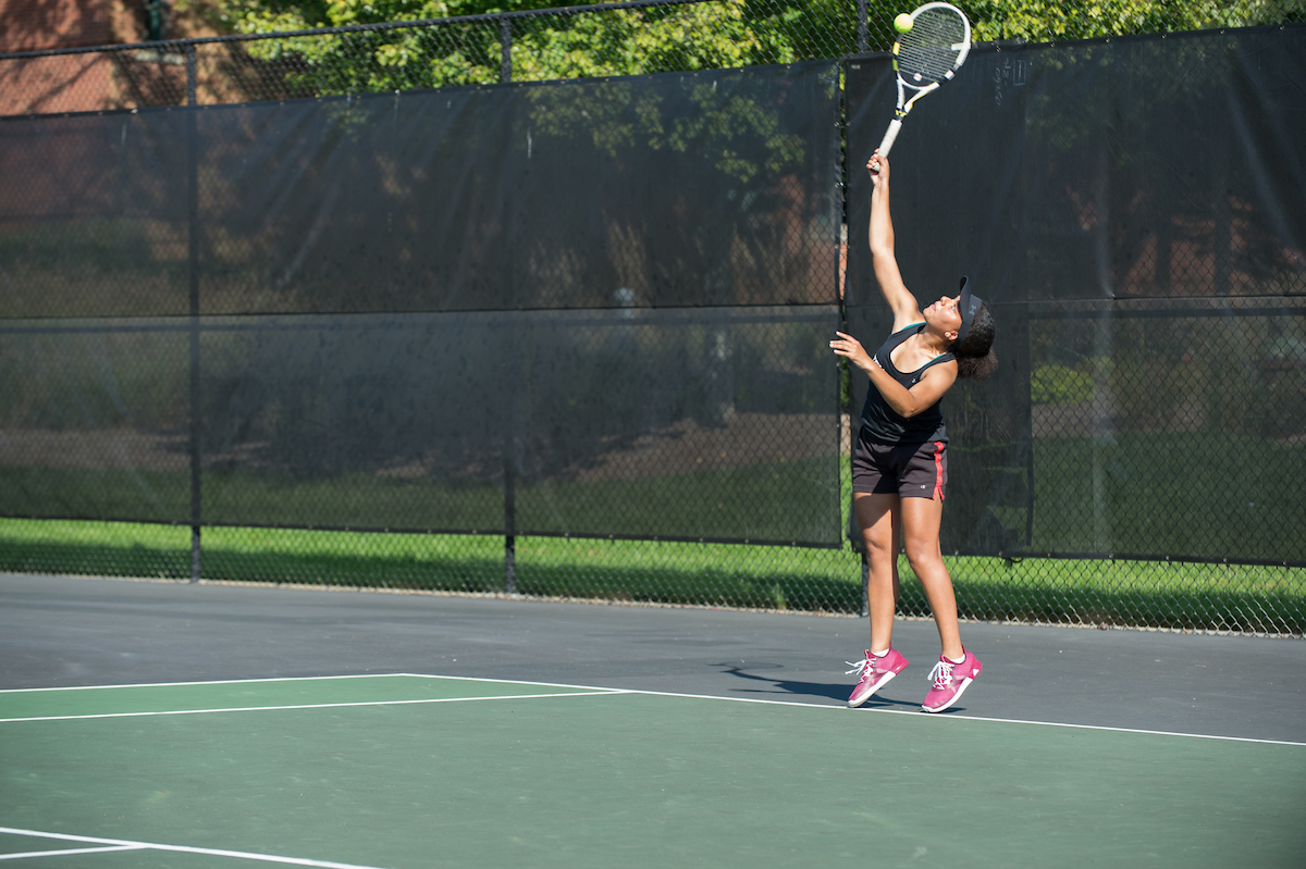 Women's Tennis Drops Non-Conference Match to Stockton, 8-1