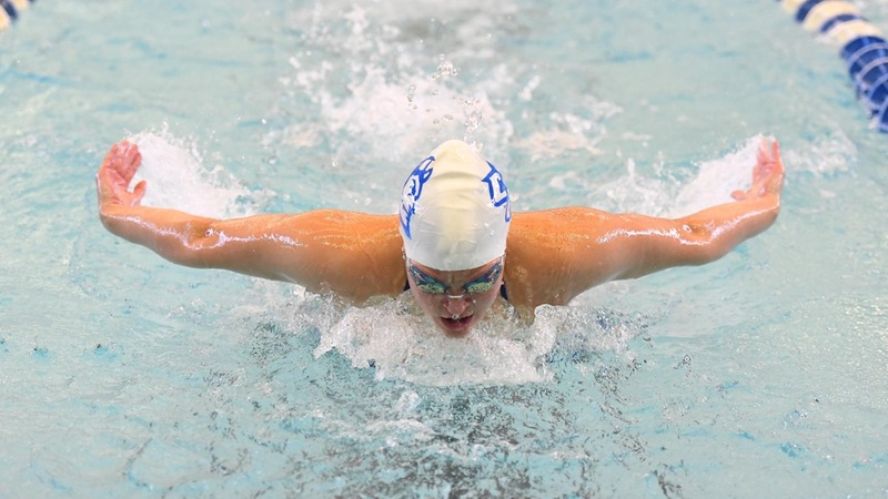 Swimming and Diving Finishes Second at Northeast Conference Championships