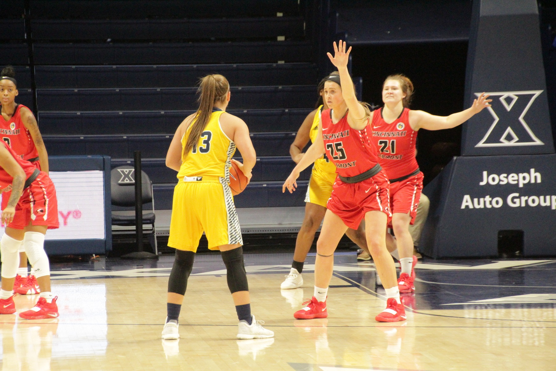 Lions defeat UC Clermont at 4th annual Lauren Hill Tip-Off Classic
