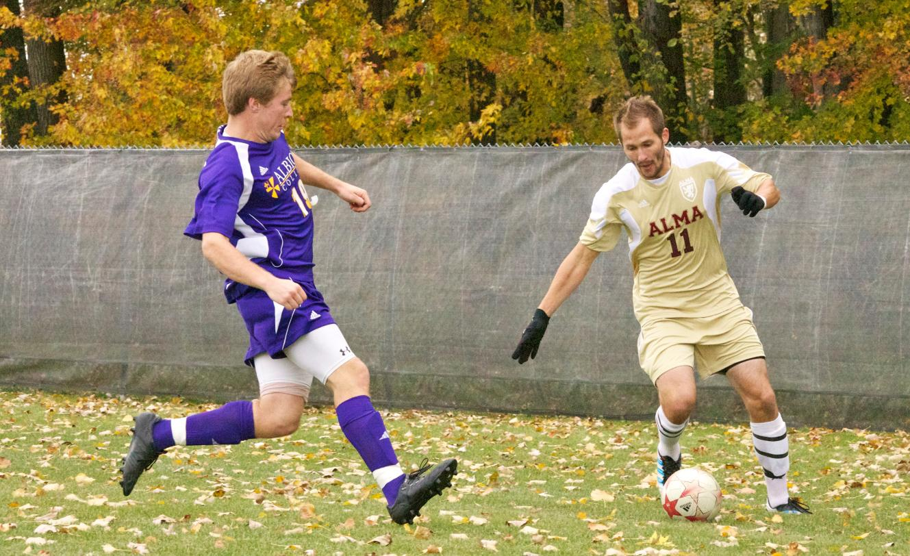 Men's Soccer defeated at Hope on Saturday night 4-1