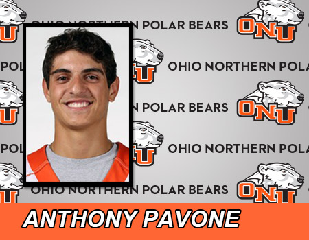 Pavone nets a Hat Trick, but Men's Lacrosse drops 13-7 decision at Otterbein