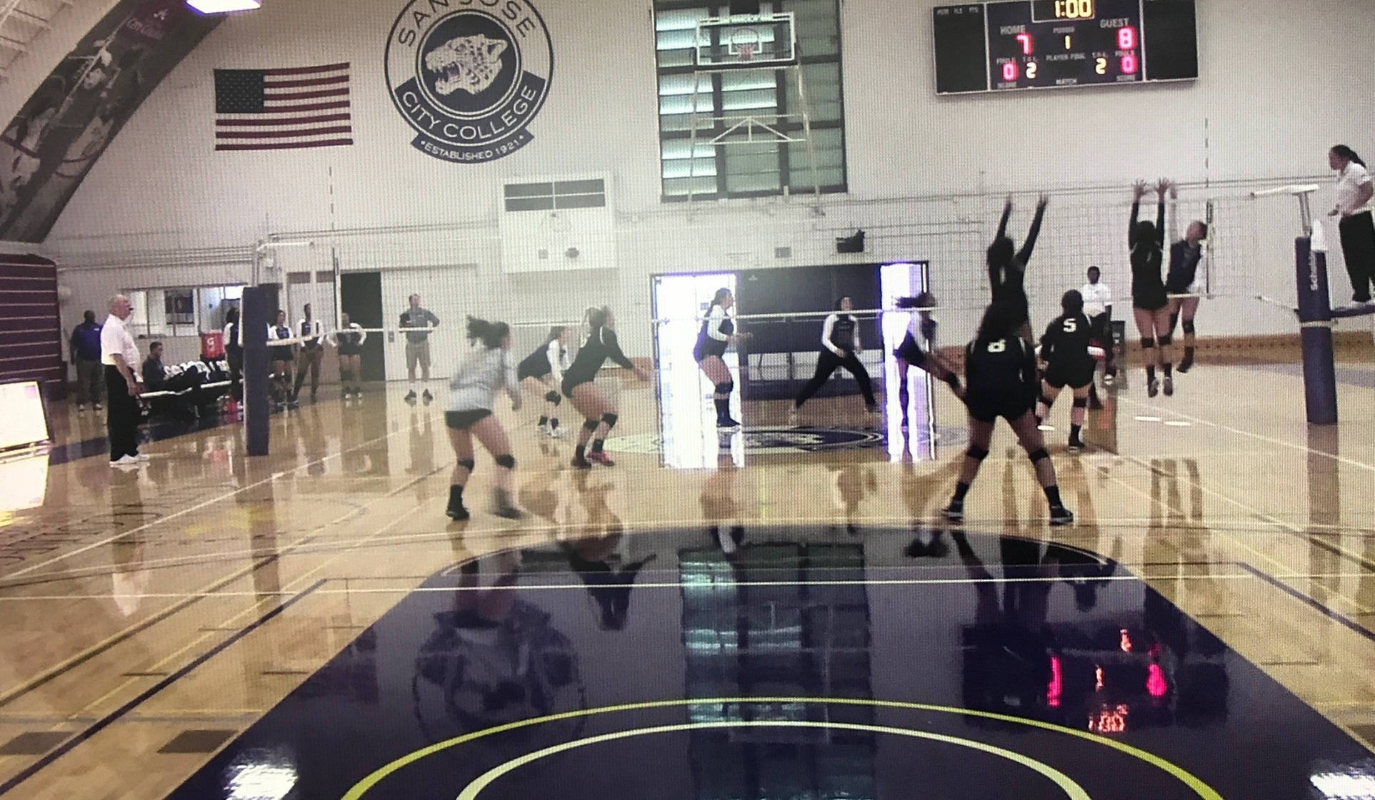 Mariners Volleyball Opens 2017 Campaign with Road Win At San Jose City College