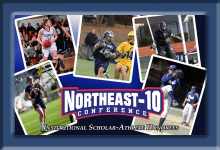Nominees Announced For Northeast-10 Scholar-Athlete Award