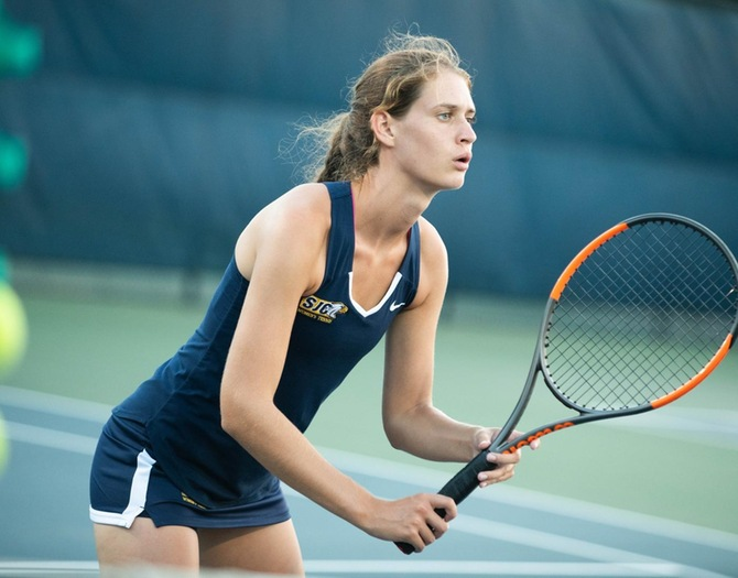 Oneonta Blanks Women's Tennis on Saturday