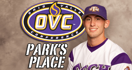 Cullen Park pitches his way to OVC honors
