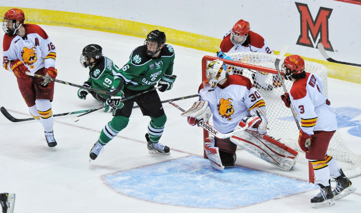 Memorable Ferris State Hockey Run Falls Just Shy Of Frozen Four In Double OT Thriller