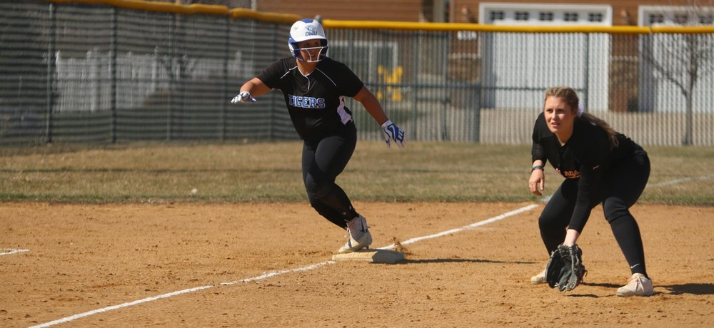Tiger softball sweeps Hastings on Senior Day