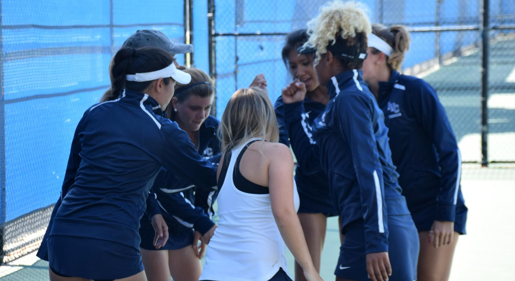 Women's tennis team's special run ends in regional semifinals