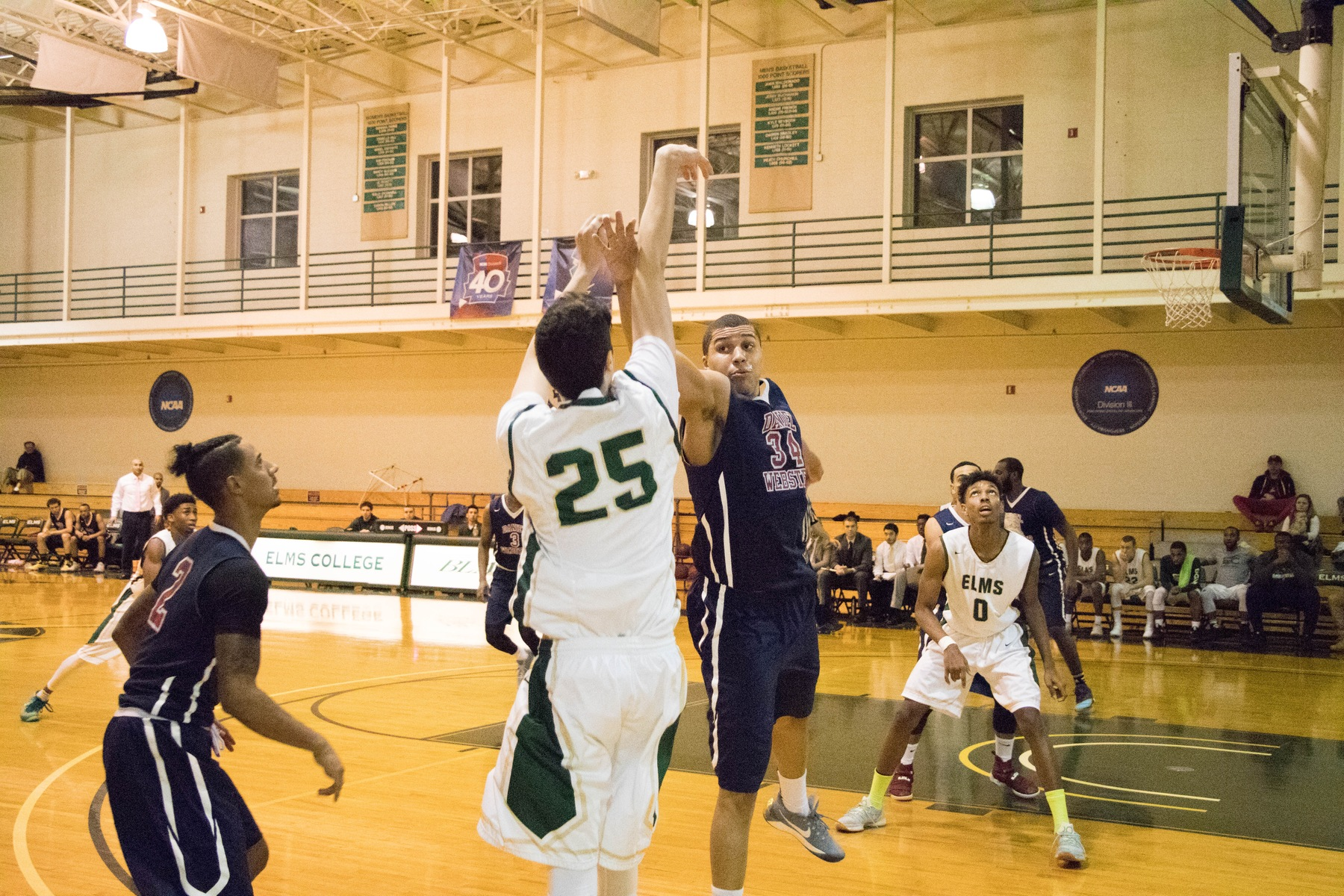 Men's Basketball Falls at Newbury