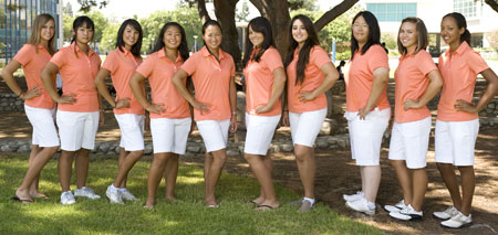 2009-10 Women's Golf Team Photo