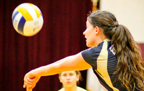 Women's Volleyball Team on a Roll