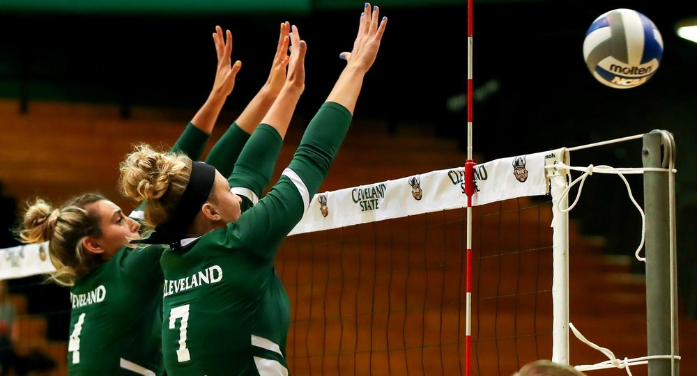Volleyball Stays Perfect In #HLVB Play, Picks Up 3-1 Victory Over Wright State