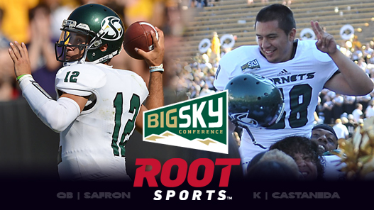 Safron, Castaneda Named Big Sky Players of the Week