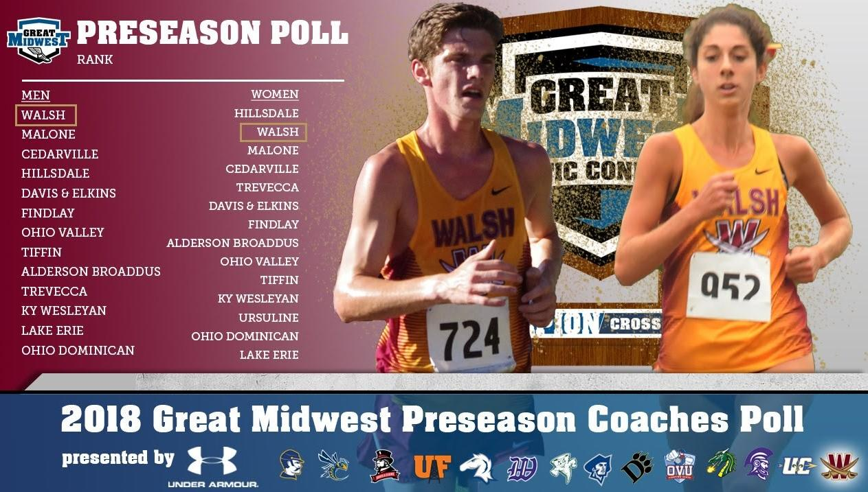 Men Picked No. 1, Women No. 2 in G-MAC XC Preseason Polls