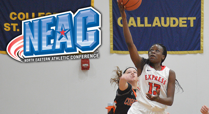 Ashida Cooper Earns NEAC Student-Athlete of the Week