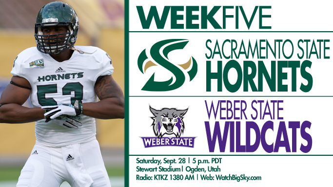 FOOTBALL BEGINS BIG SKY PLAY AT WEBER STATE ON SATURDAY