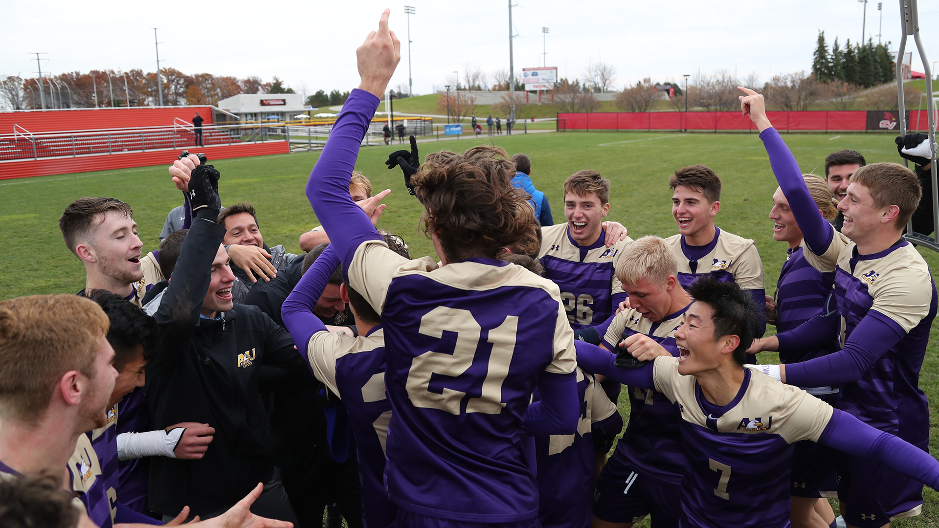 GLIAC CHAMPS! Eagles Qualify For NCAA Tournament With 3-0 Win