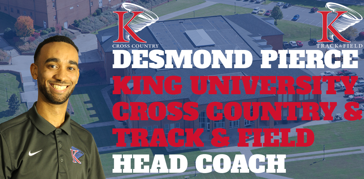 Pierce selected as head coach for cross country/track & field