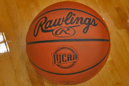 NJCAA stamped basketball