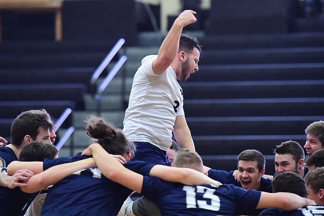 Behrend Men's Volleyball Set to Defend AMCC Title