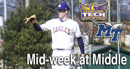 Mid-week in Murfreesboro; Tech baseball takes on Middle