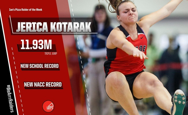 Second NCAA Qualification Earns Kotarak ROTW Honors