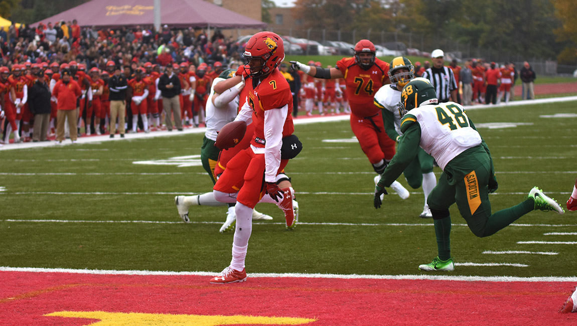 Ferris State Football Posts Decisive Victory Over NMU To Open Three-Game Homestand