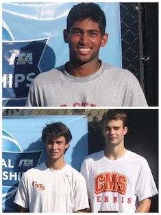 Kotrappa, Wood and Dorn Capture USTA / ITA West Titles