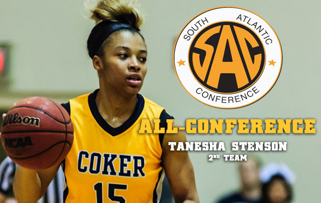 Coker's Stenson Named to All-SAC Second Team