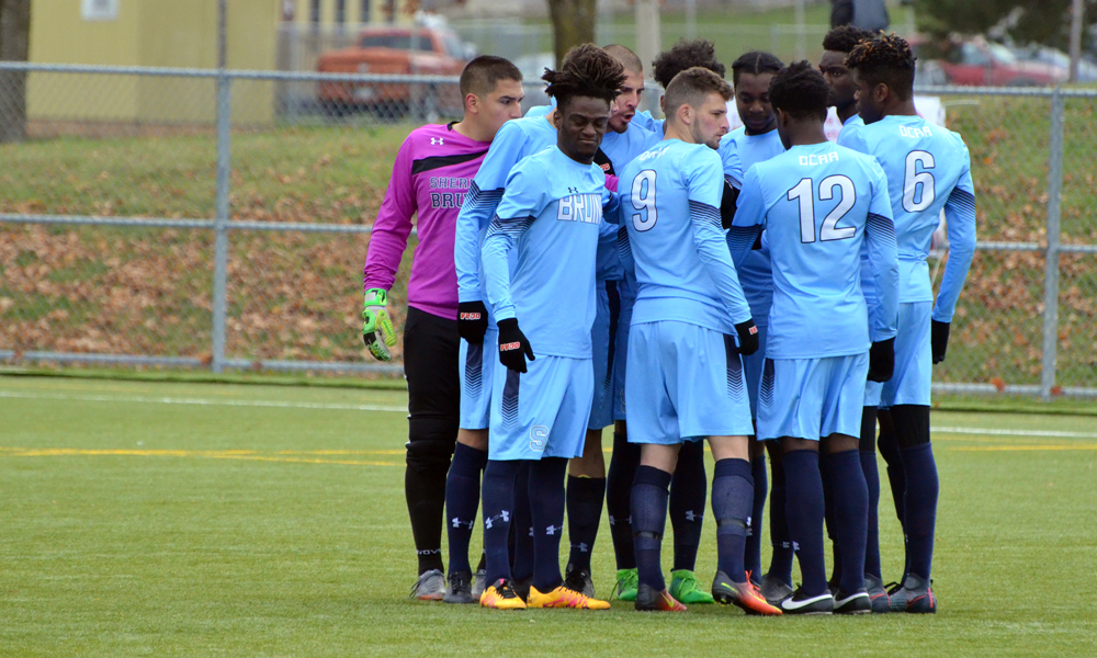 Men's soccer knocked from championship contention in quarter-final loss to Algonquin