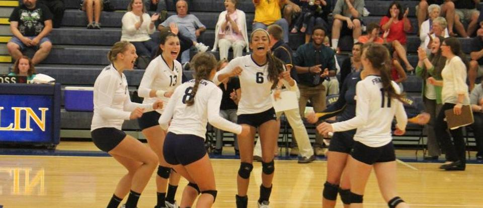 Volleyball Goes 2-2 at Aurora Invitational