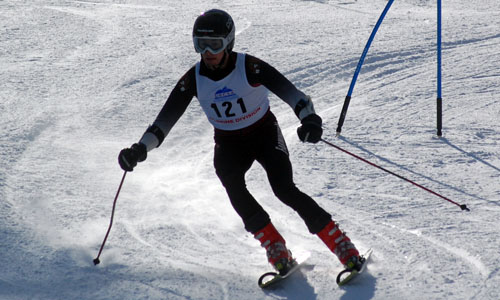 Rose and Ricker Finish As Top Skiers At Black Mountain