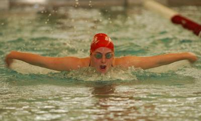Swimming Sweeps Gallaudet and Hood
