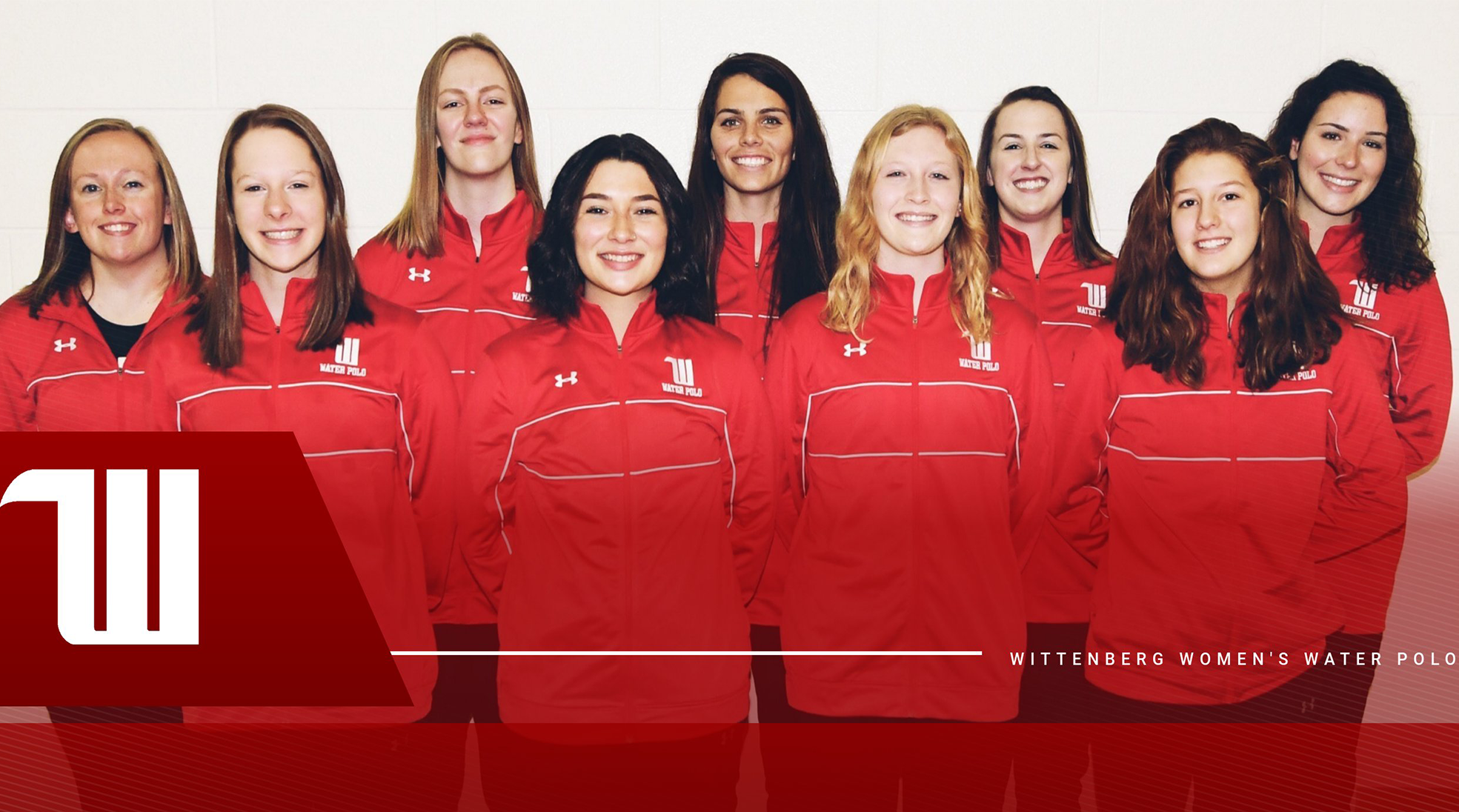 2015-16 Wittenberg Women's Water Polo Team Photo
