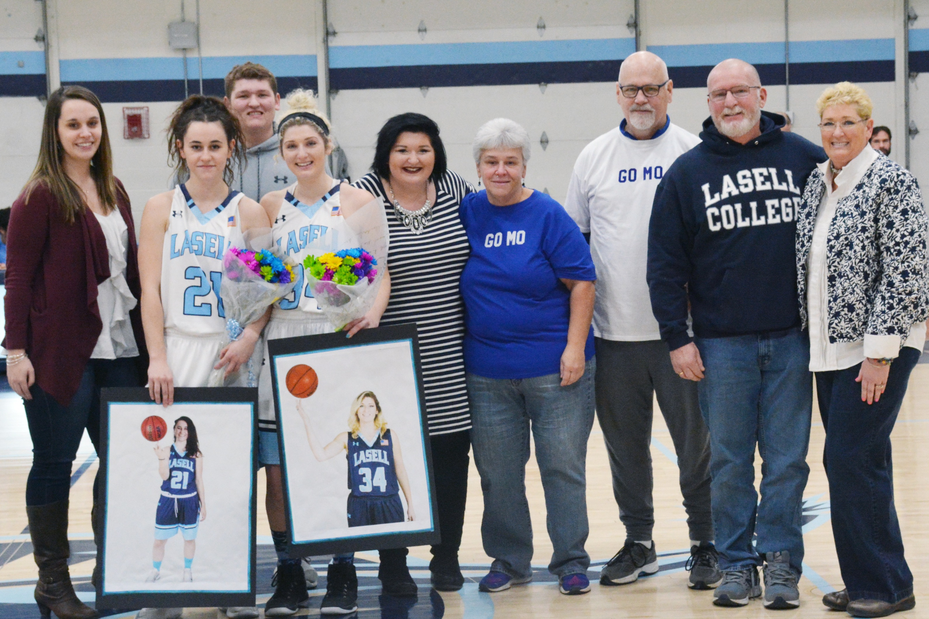Lasell Women's Basketball celebrates Senior Day with win over USJ