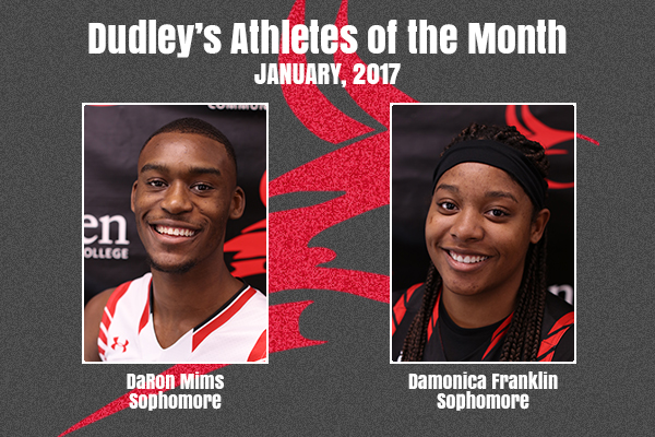 Dudley's January Athletes of the Month