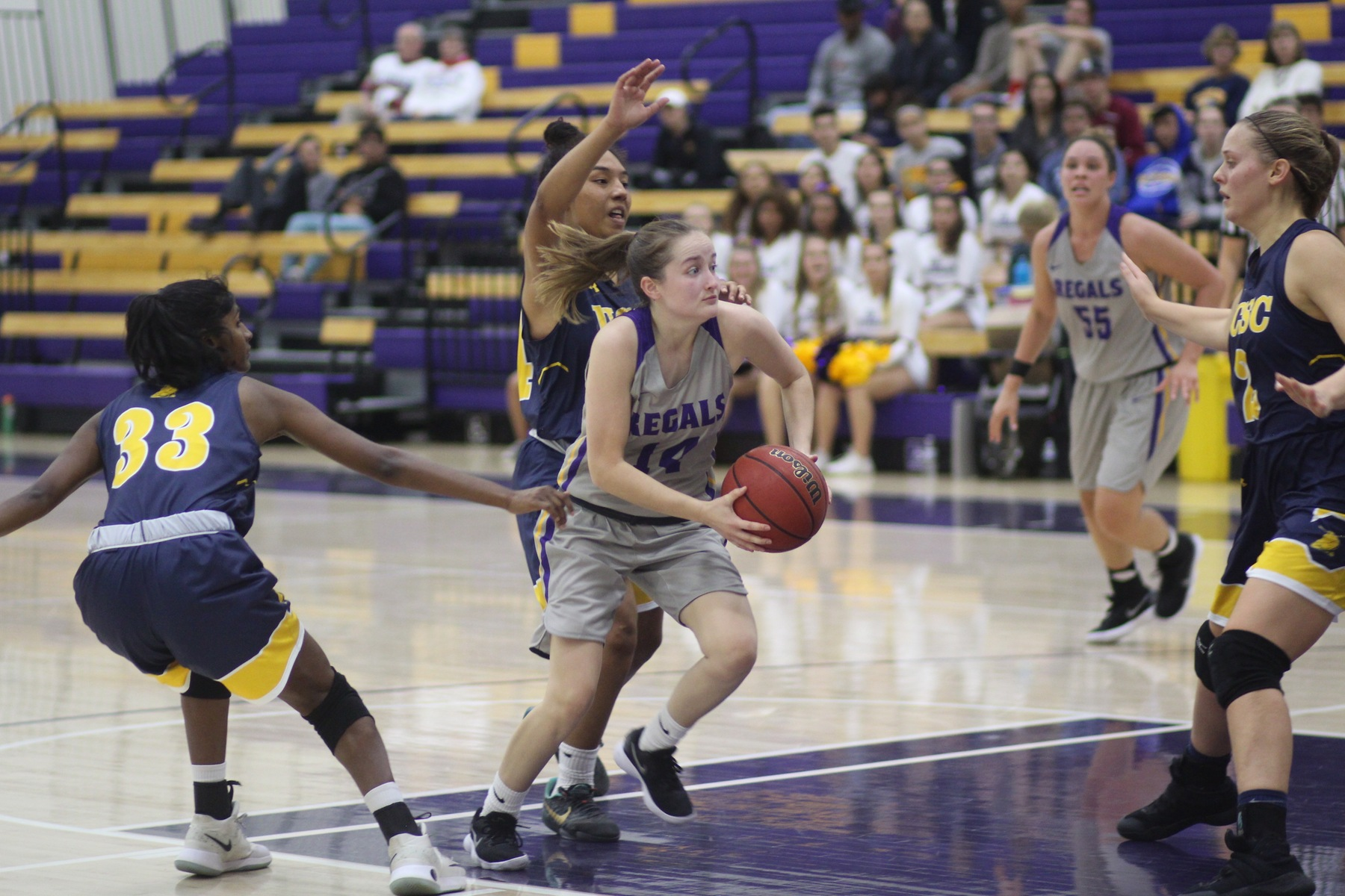 Late Surge for Regals Falls Just Short Against Willamette
