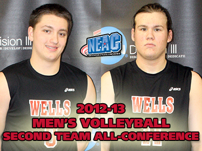 Nipps, Podczasy Draw NEAC Second Team All-Conference Honors