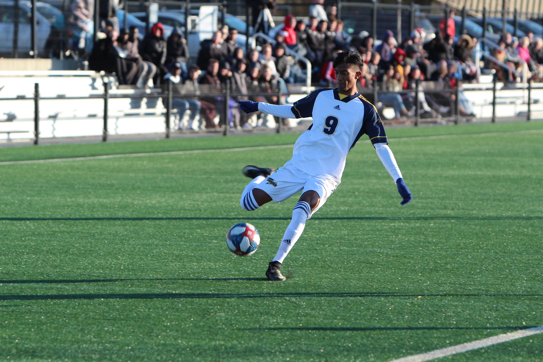Thunder Men's Soccer Team Cruises to Win Over Wolves in Final Home Game of Season