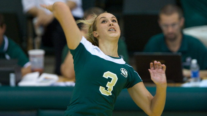 VOLLEYBALL BOUNCES BACK WITH 3-1 VICTORY OVER ETSU