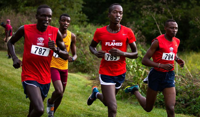 Liberty's Kirwa Triumphs at Iona for Second-Straight Meet Victory
