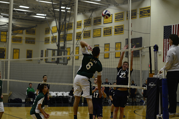 Endicott Too Much For Men's Volleyball